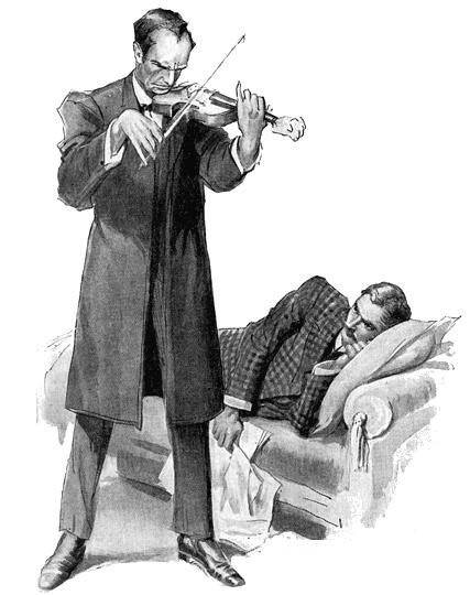 шерлок холмс знакомство роли